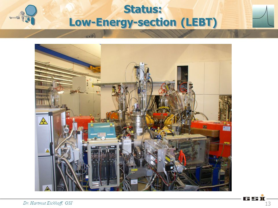 Status: Low-Energy-section (LEBT)