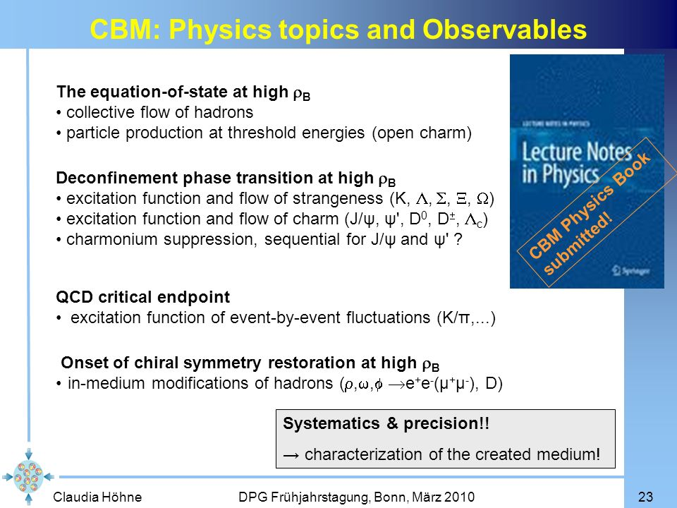 CBM: Physics topics and Observables