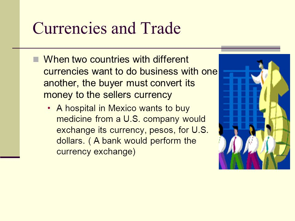 Currencies and Trade