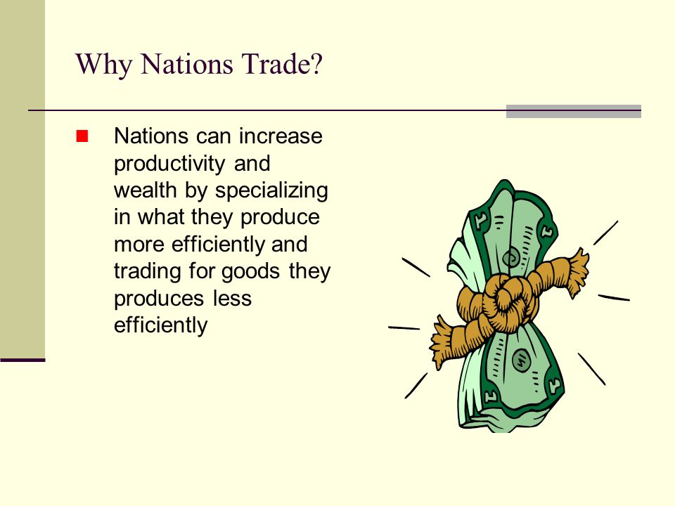 Why Nations Trade