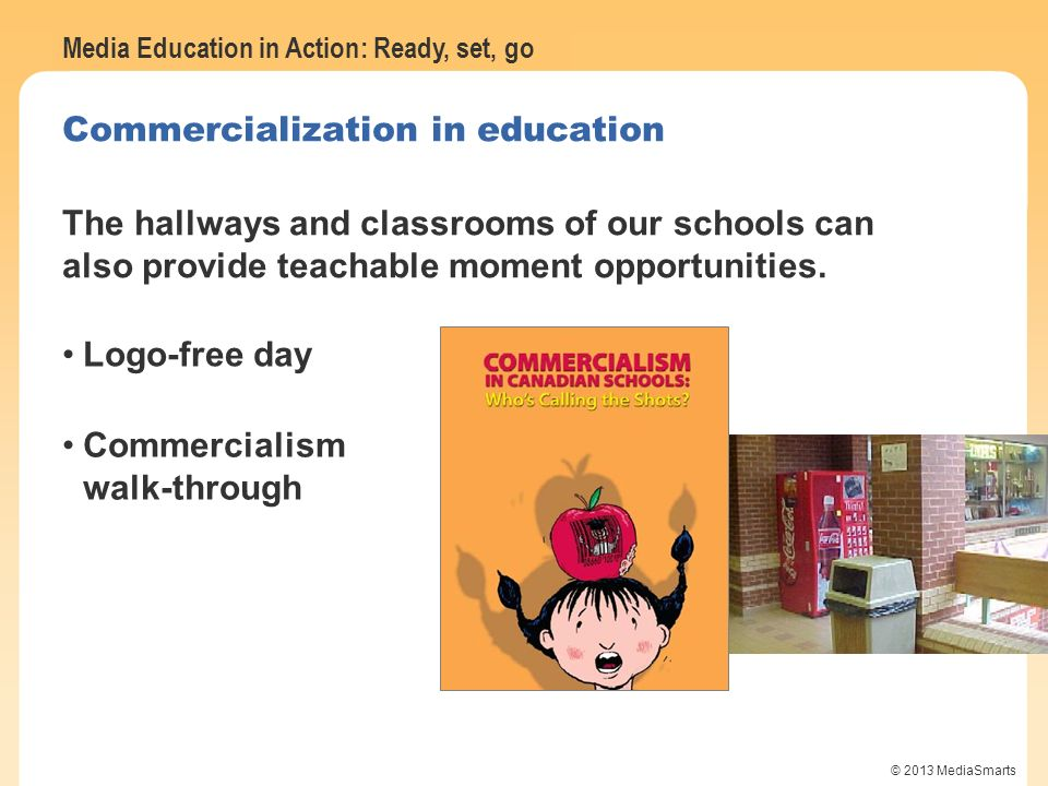 Commercialization in education