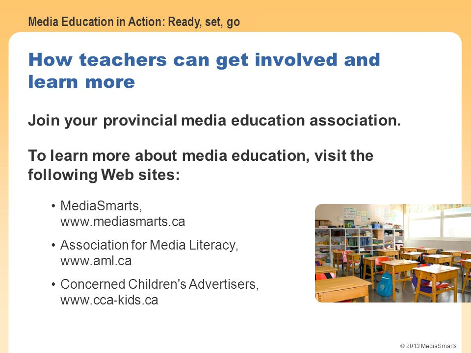 How teachers can get involved and learn more