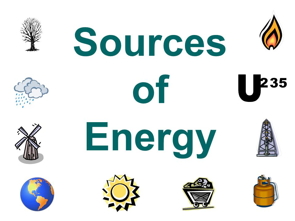 Sources of Energy U 2 35