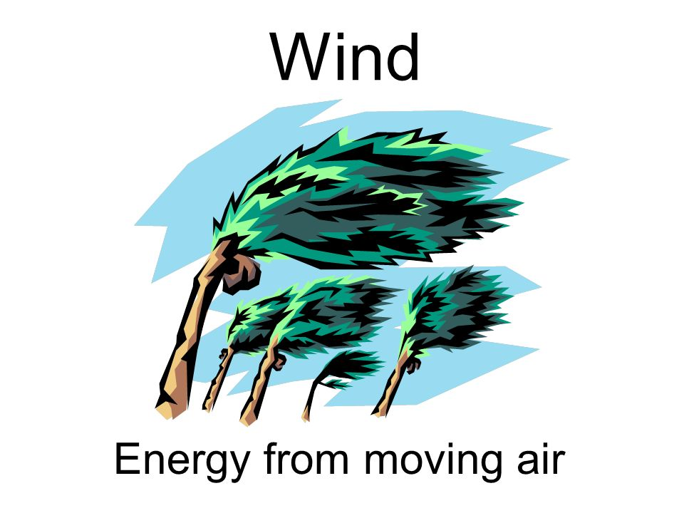 Wind Energy from moving air