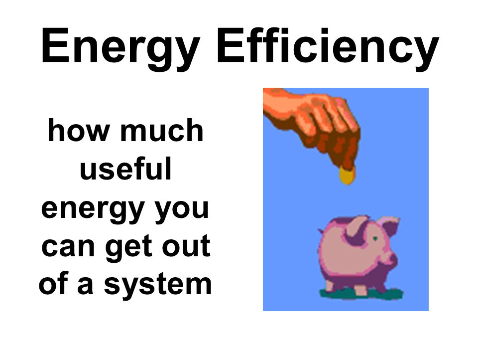 how much useful energy you can get out of a system