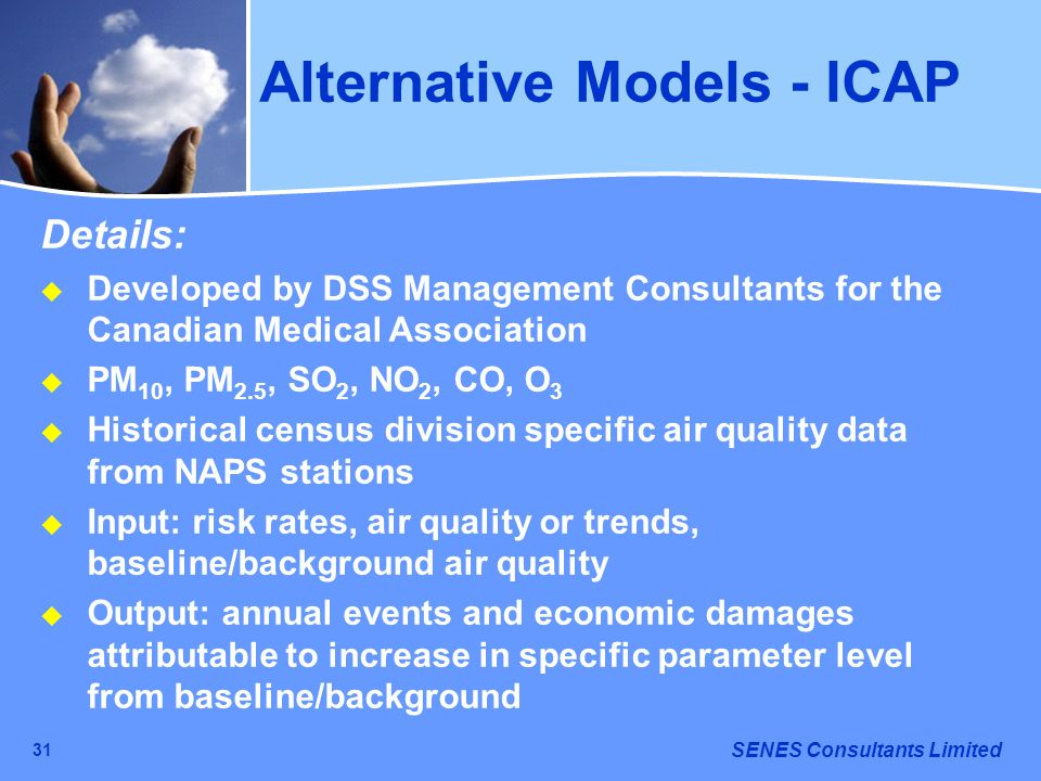 Alternative Models - ICAP