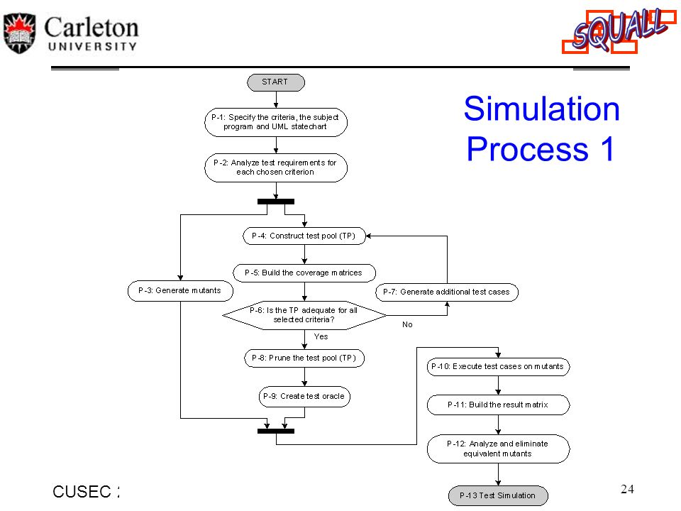 Simulation Process 1