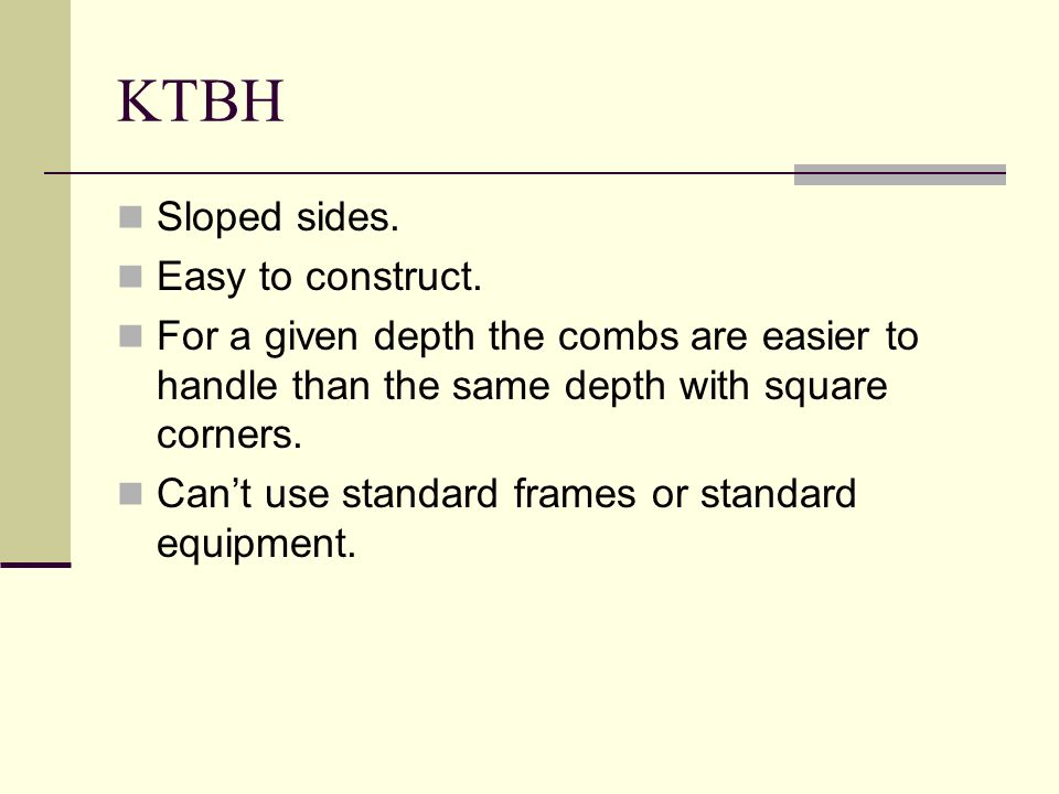 KTBH Sloped sides. Easy to construct.