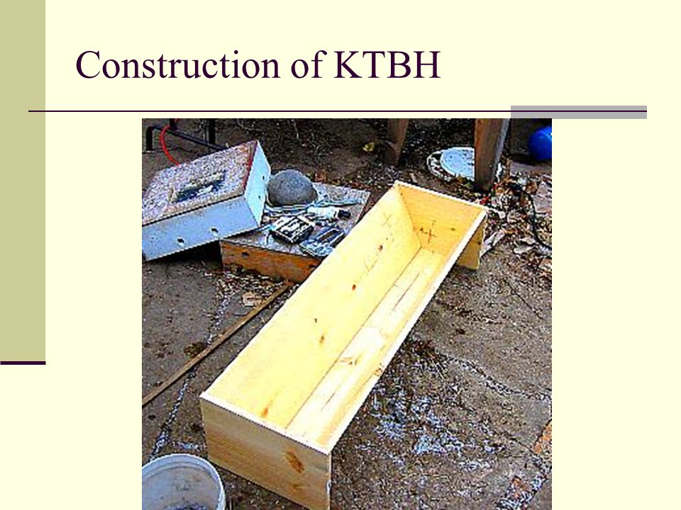 Construction of KTBH