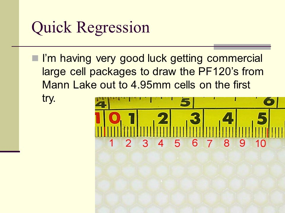Quick Regression