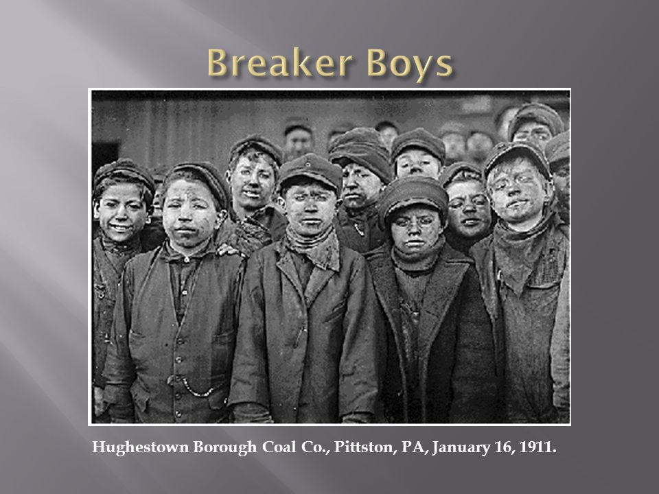 Hughestown Borough Coal Co., Pittston, PA, January 16, 1911.