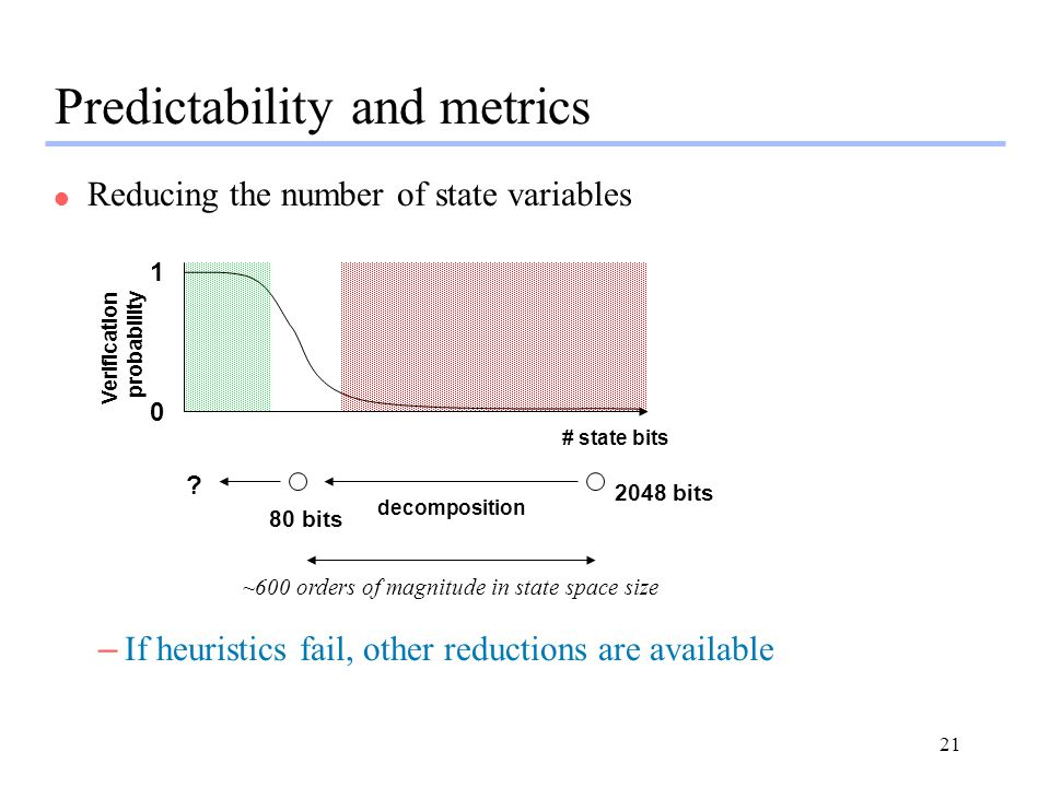 Predictability and metrics