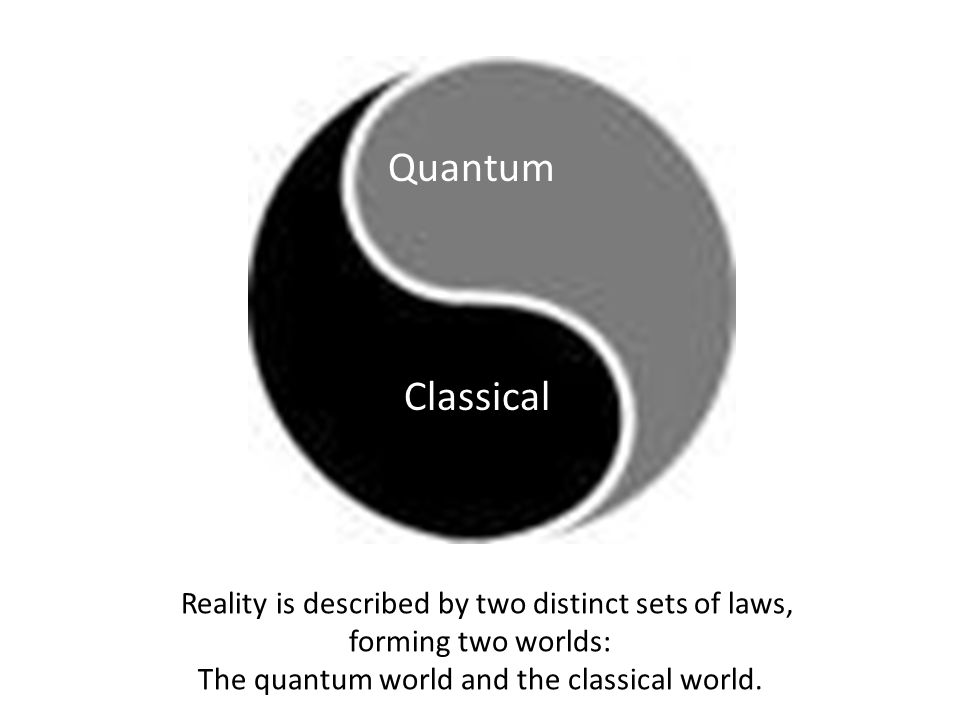 Quantum Classical Reality is described by two distinct sets of laws,