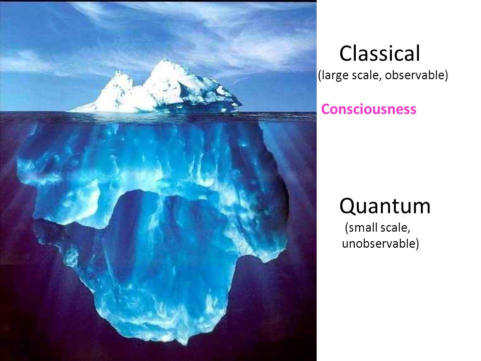 Classical Quantum Consciousness (large scale, observable)