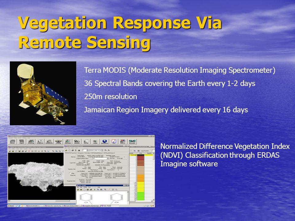 Vegetation Response Via Remote Sensing