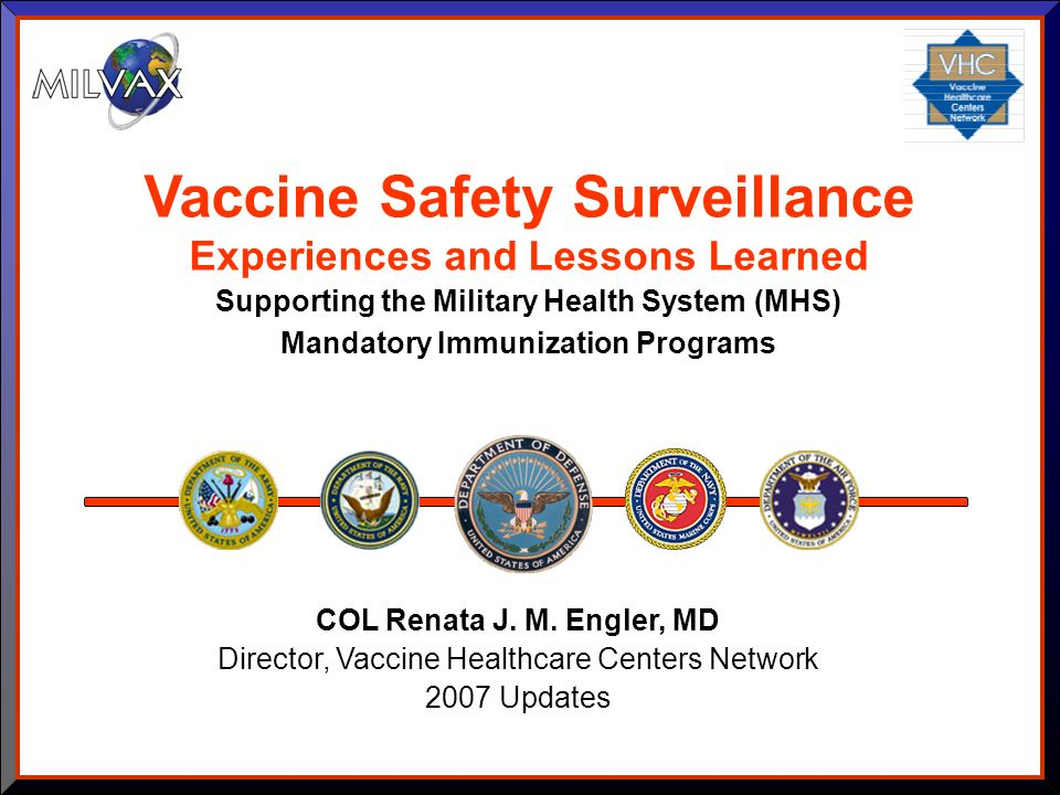 Vaccine Safety Surveillance