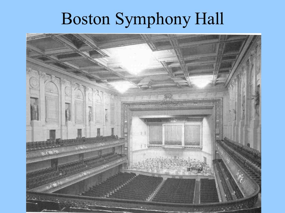 Boston Symphony Hall
