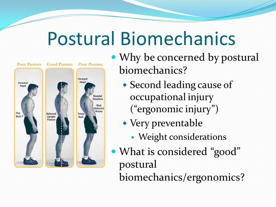 Postural Biomechanics