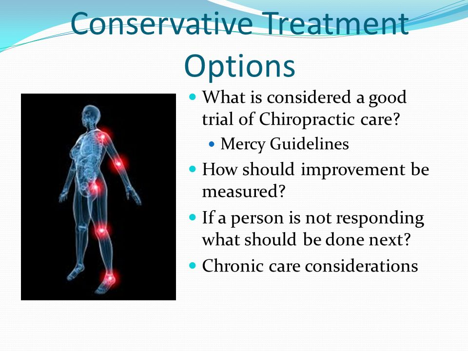 Conservative Treatment Options