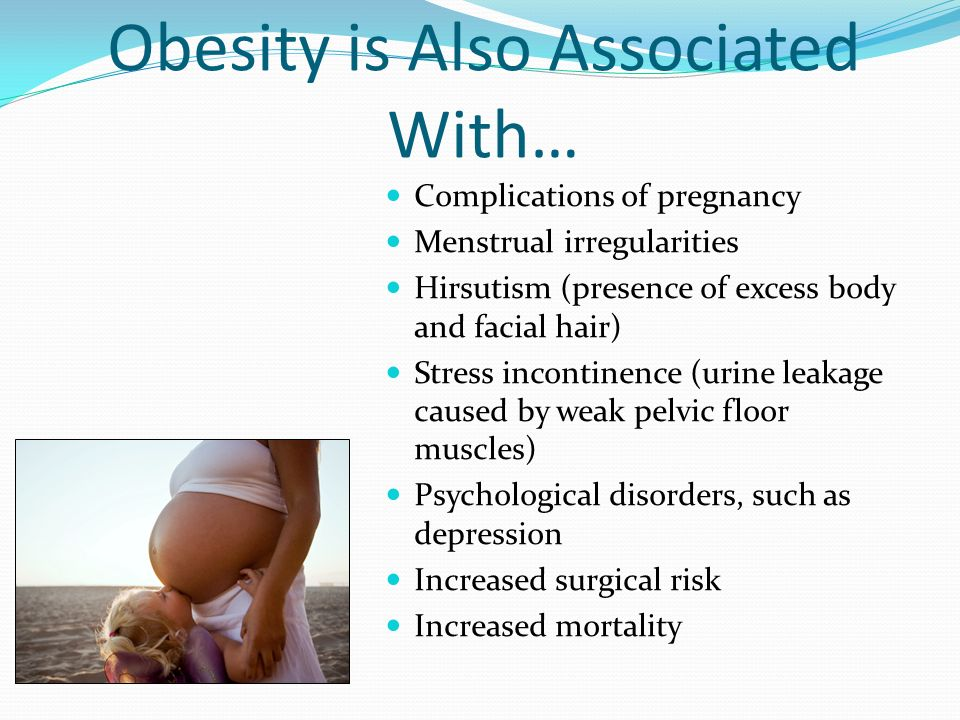 Obesity is Also Associated With…