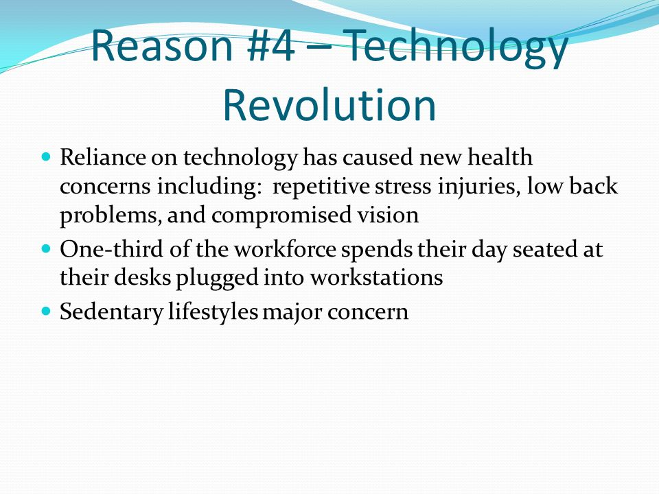 Reason #4 – Technology Revolution