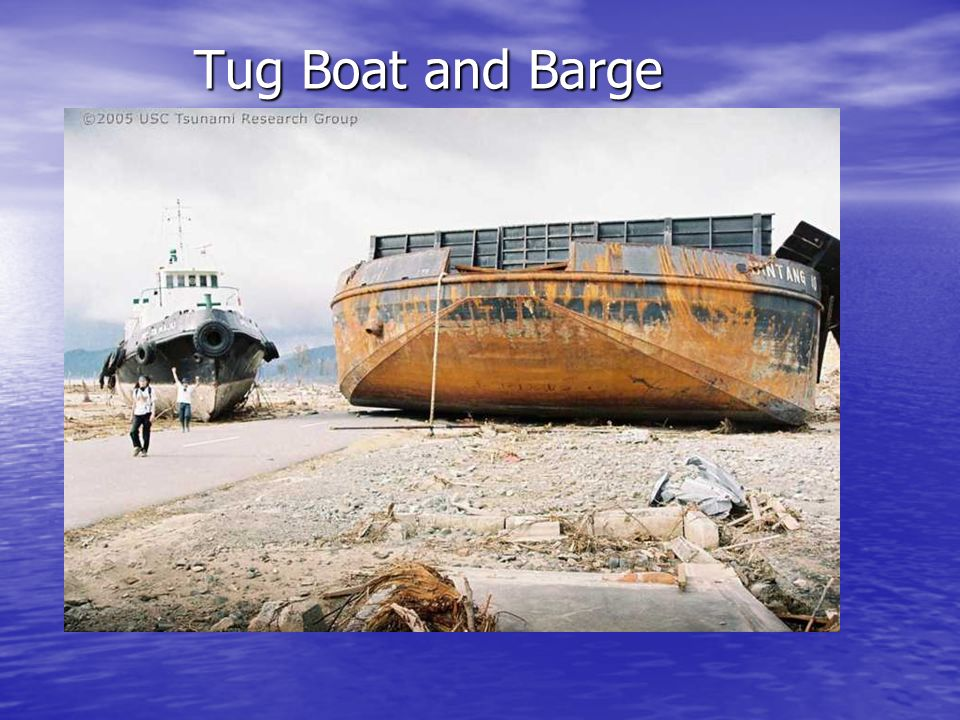 Tug Boat and Barge