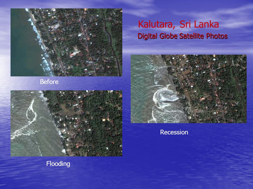 Digital Globe Satellite Photos