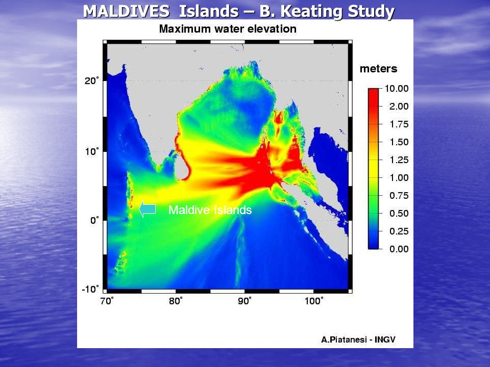 MALDIVES Islands – B. Keating Study