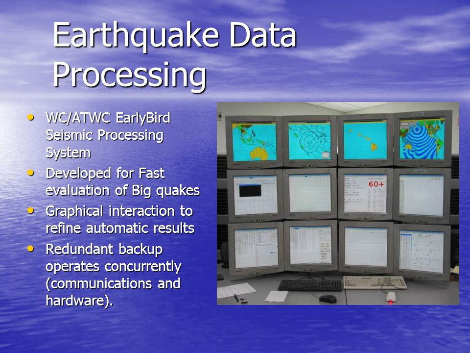 Earthquake Data Processing