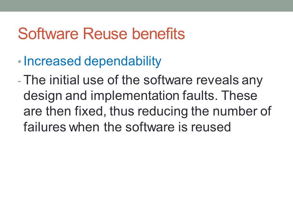 Software Engineering Reuse Ppt Download