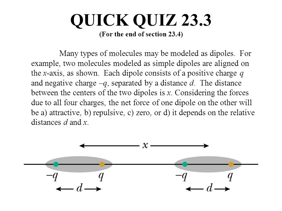 QUICK QUIZ 23.3 (For the end of section 23.4)
