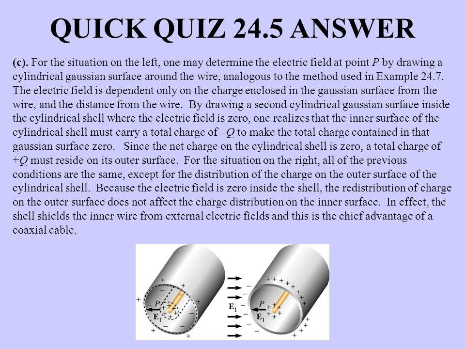QUICK QUIZ 24.5 ANSWER