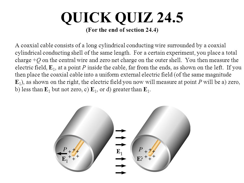 QUICK QUIZ 24.5 (For the end of section 24.4)