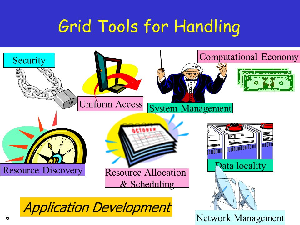 Grid Tools for Handling