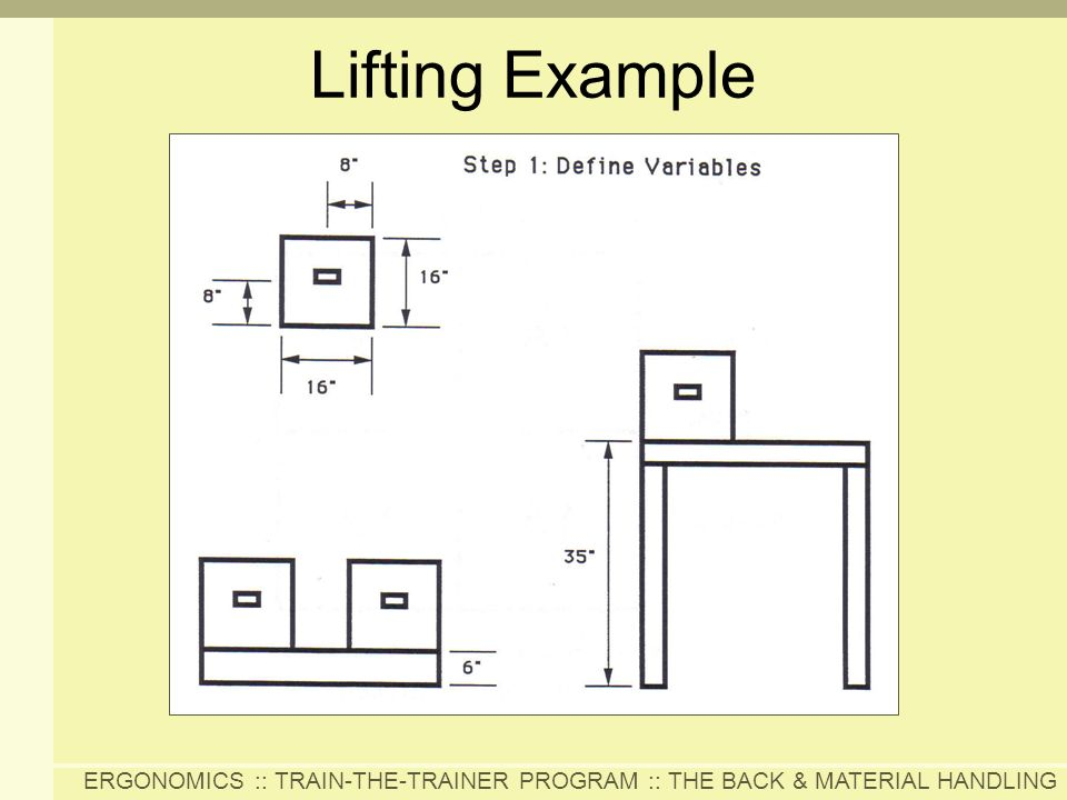 Lifting Example