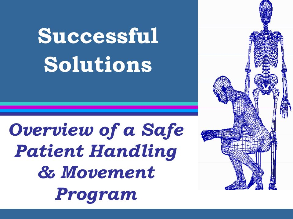 Overview of a Safe Patient Handling & Movement Program
