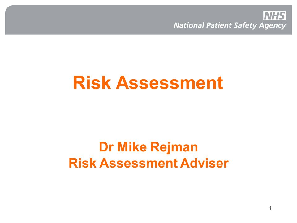 Risk Assessment Adviser