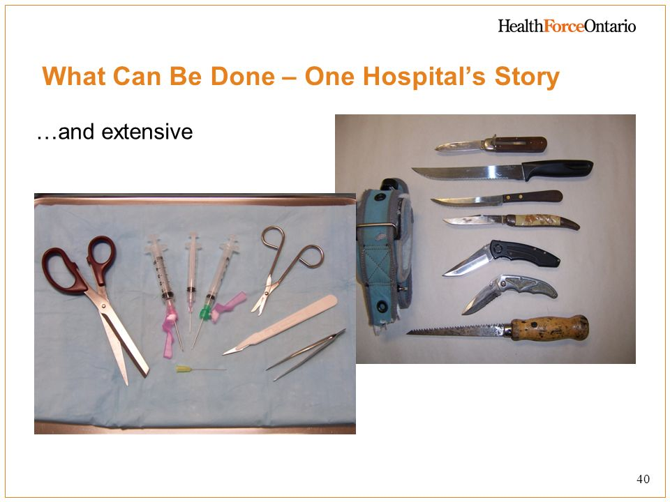 What Can Be Done – One Hospital's Story