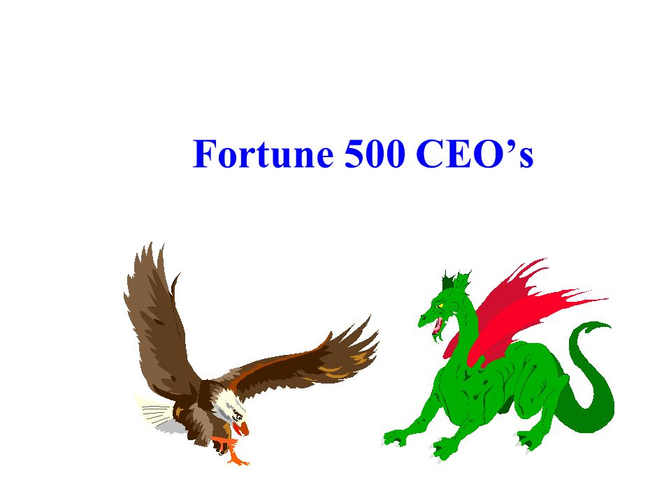 Fortune 500 CEO's Dr. R. F. Harshberger - 10/30-31/07