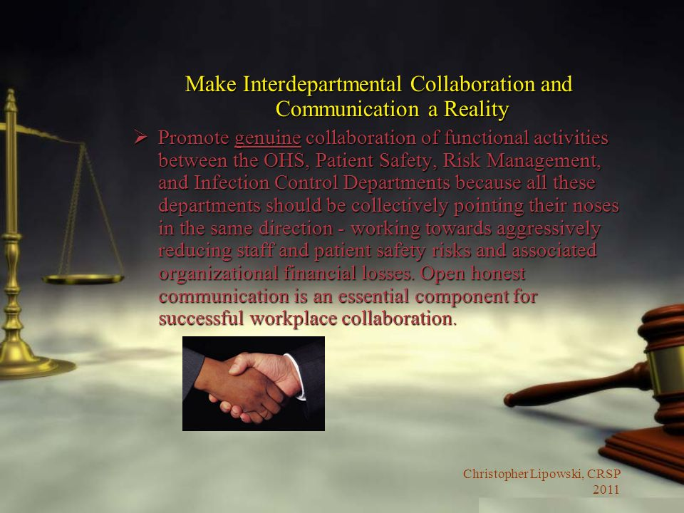 Make Interdepartmental Collaboration and Communication a Reality