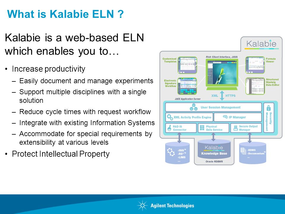 Kalabie is a web-based ELN which enables you to…