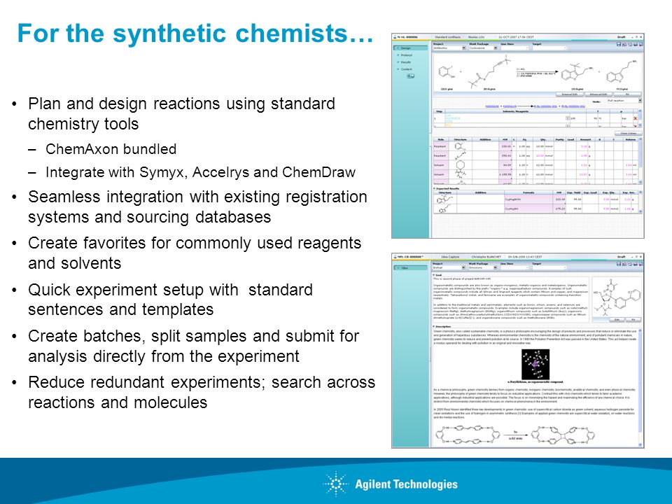 For the synthetic chemists…
