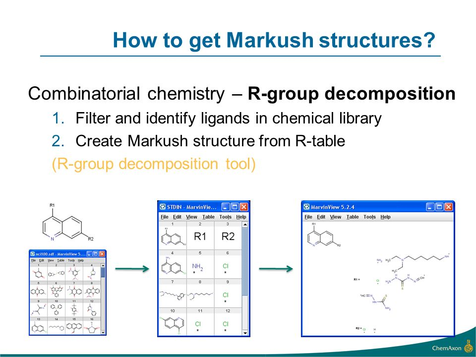 How to get Markush structures