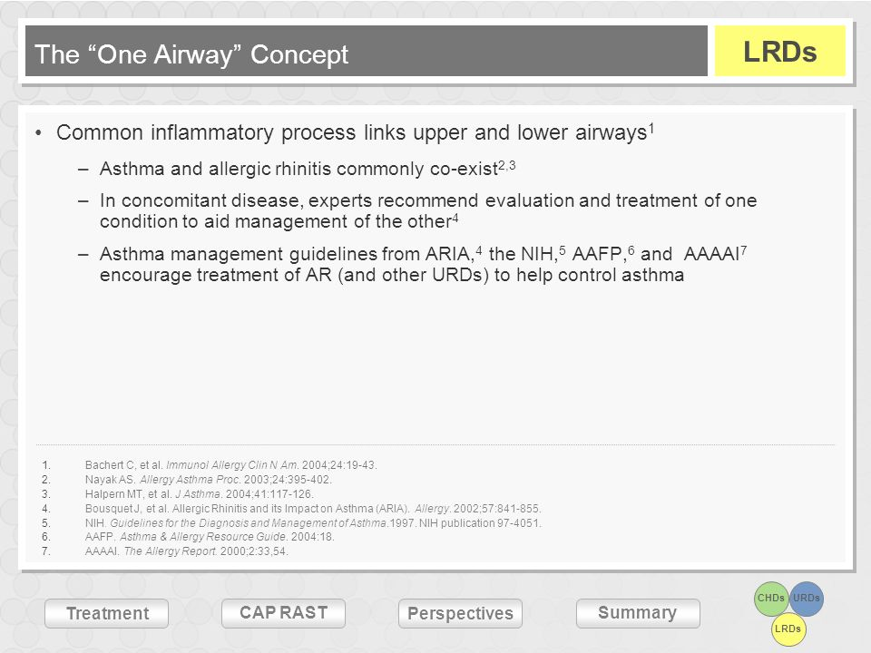 The One Airway Concept