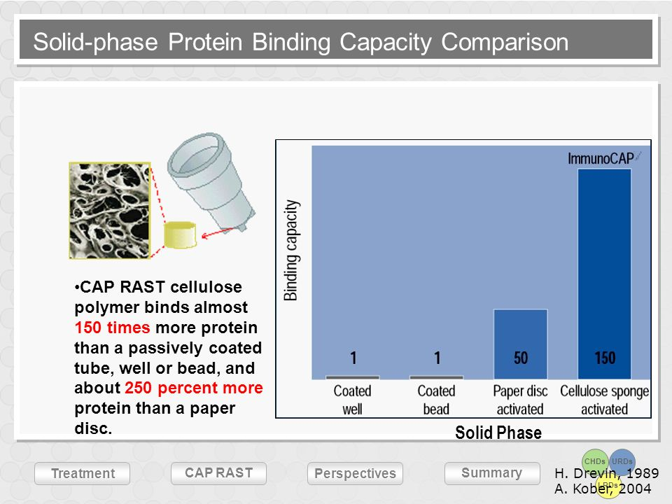 Solid-phase Protein Binding Capacity Comparison