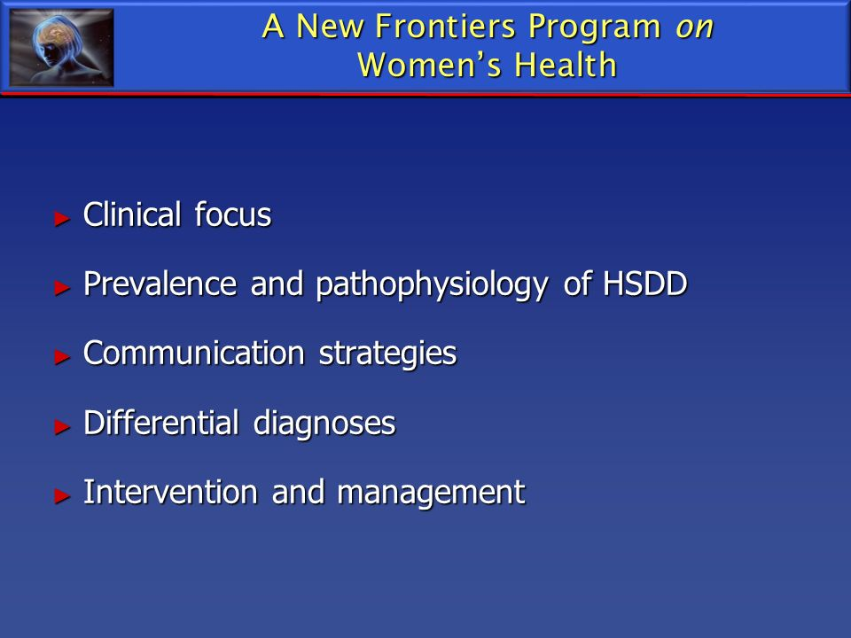 A New Frontiers Program on
