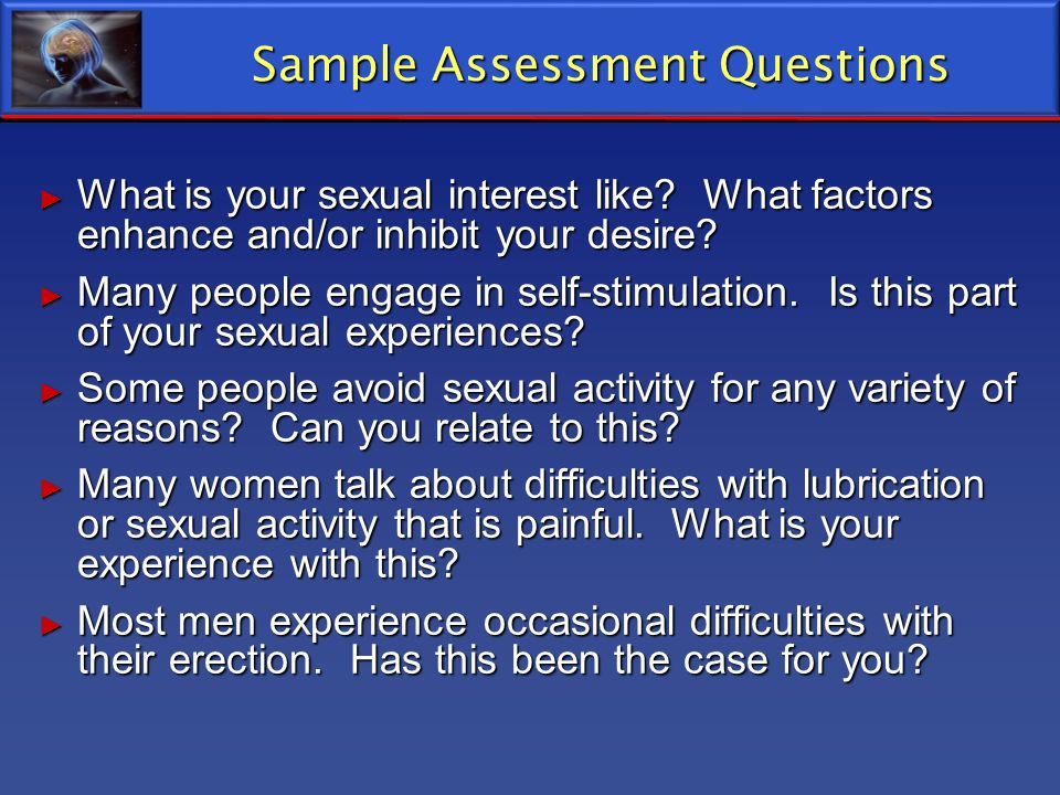 Sample Assessment Questions