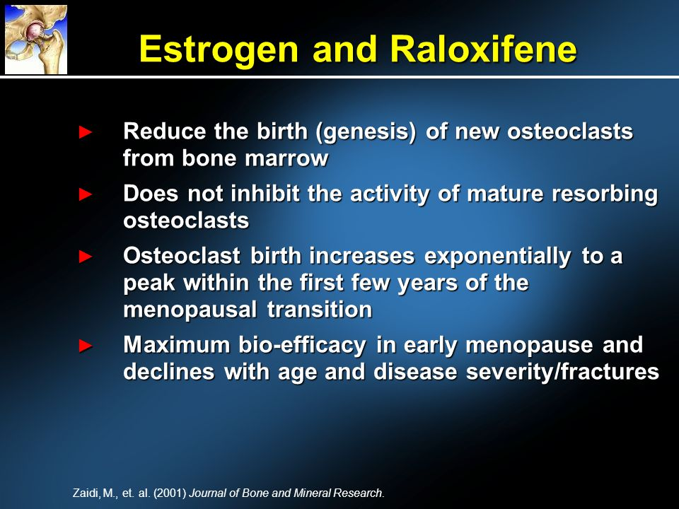 Estrogen and Raloxifene