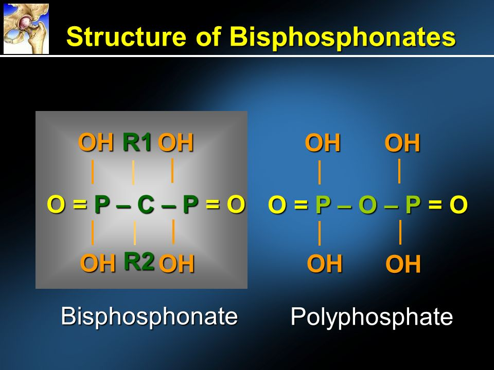 Structure of Bisphosphonates