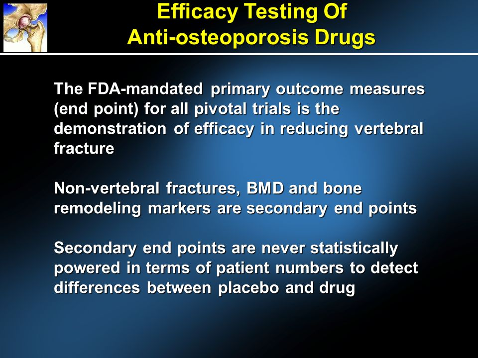 Efficacy Testing Of Anti-osteoporosis Drugs